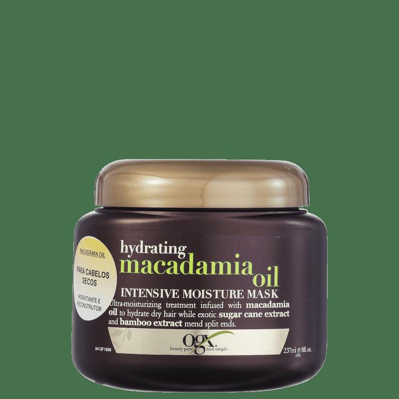 Organix Macadamia Oil Intense Moisture Mask - Máscara 237ml