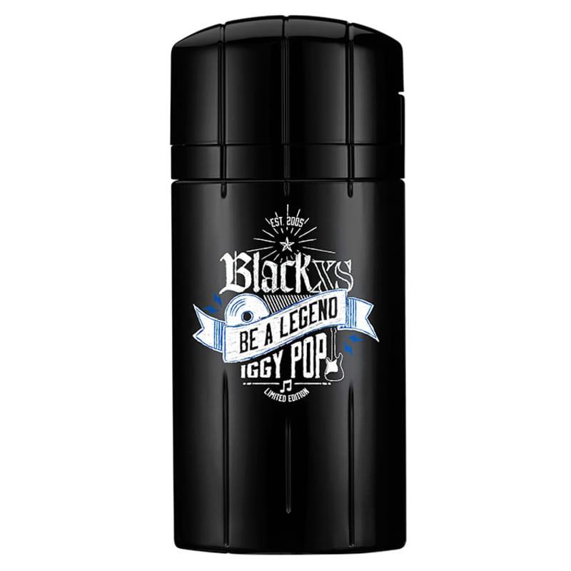 Perfume Black Xs Be a Legend Debbie Harry Paco Rabanne Eau de Toilette Masculino 100 Ml