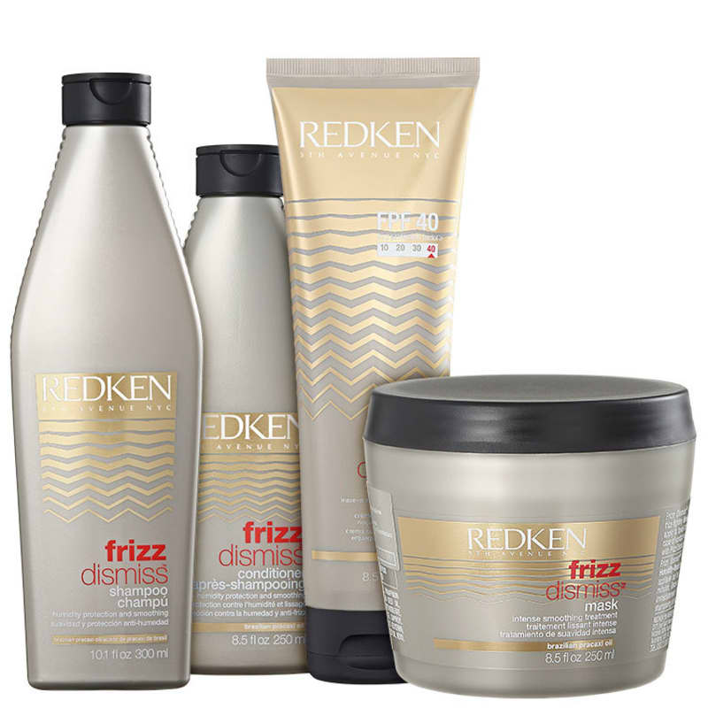 Kit Redken Frizz Dismiss Rebel Tame FPF40 (4 Produtos)