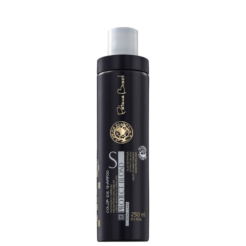 Pataua Brazil Protect Blond Color Ice - Shampoo Matizador 250ml