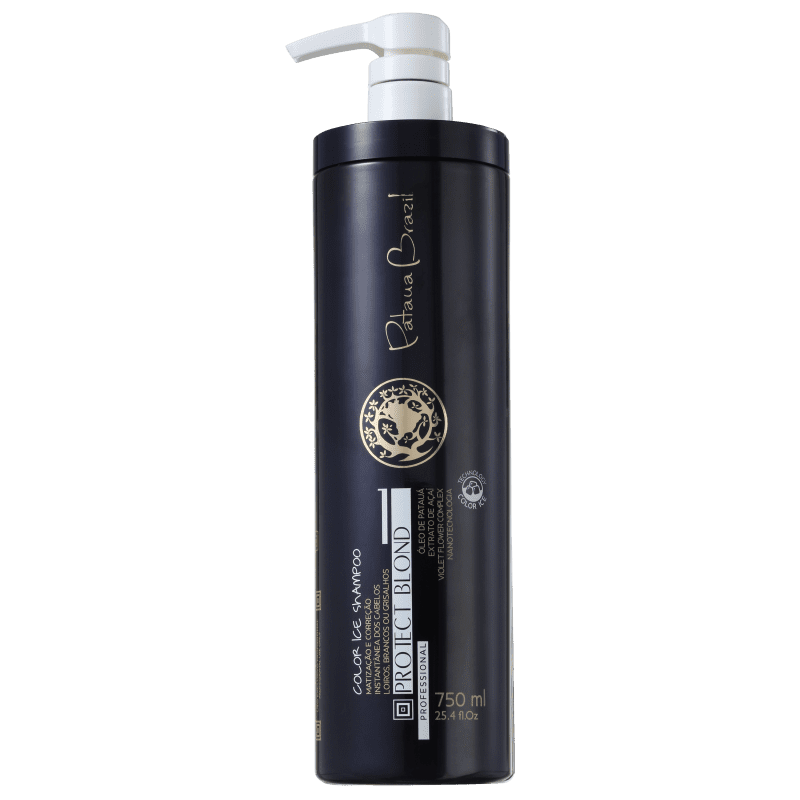Pataua Brazil Protect Blond Color Ice - Shampoo Matizador 750ml