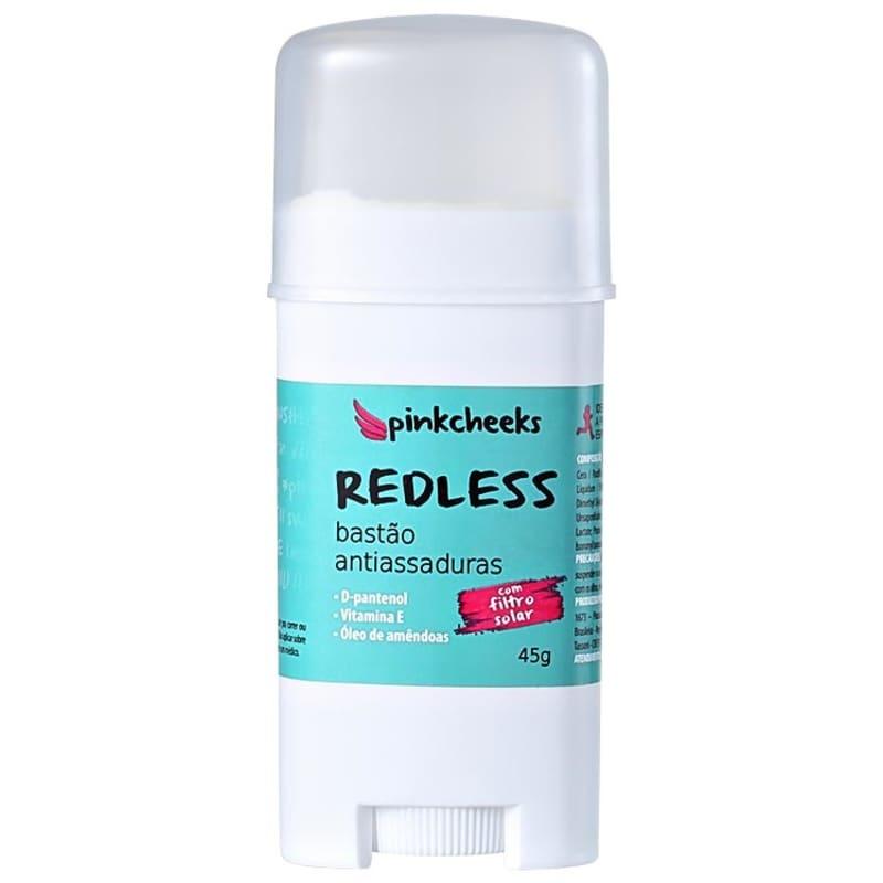 Pink Cheeks Redless - Bastão Antiassaduras 45g