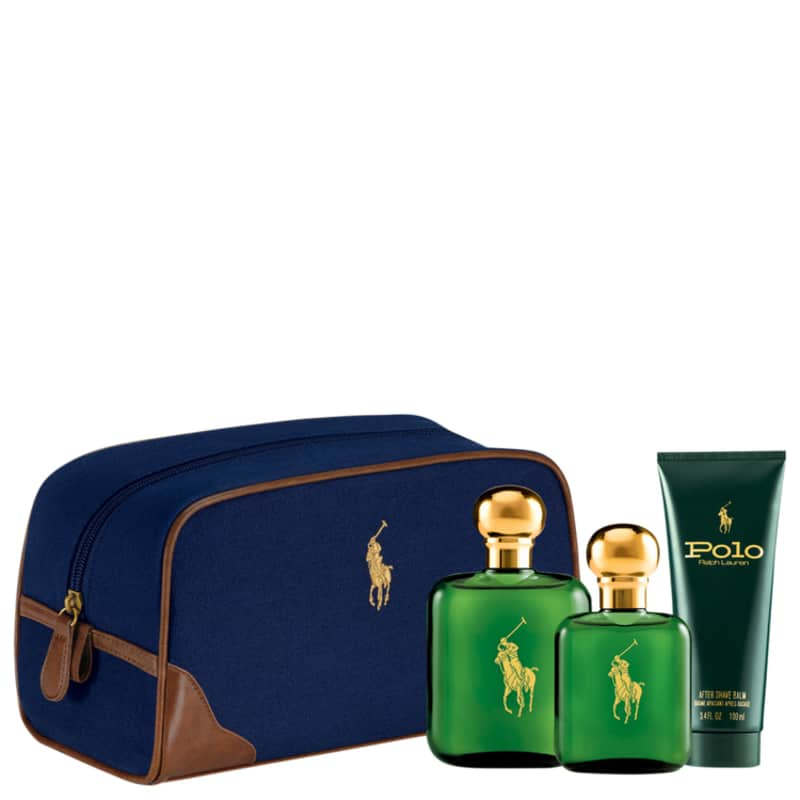 Conjunto Polo Ralph Lauren Masculino - Eau de Toilette 118ml + Eau de Toilette 59ml + Pós-Barba 100ml
