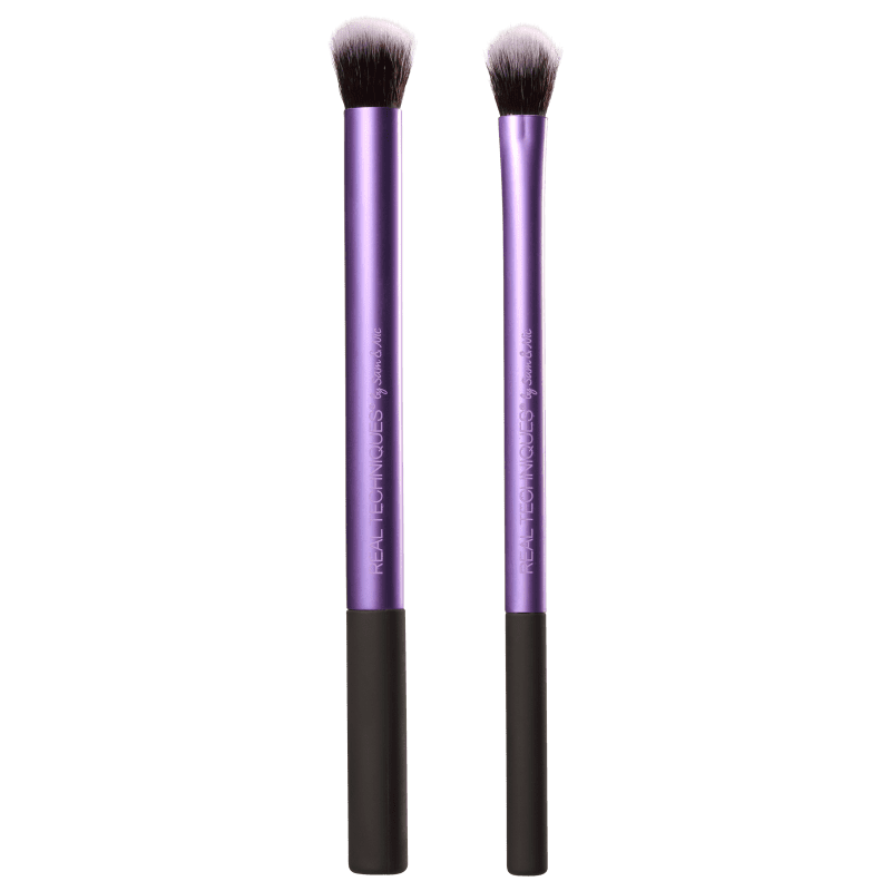 Real Techniques Kit de Pincéis Eye Shade + Blend (2 produtos)