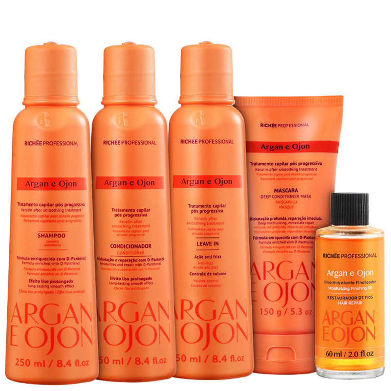 Kit Richée Professional Argan e Ojon Full (5 Produtos)