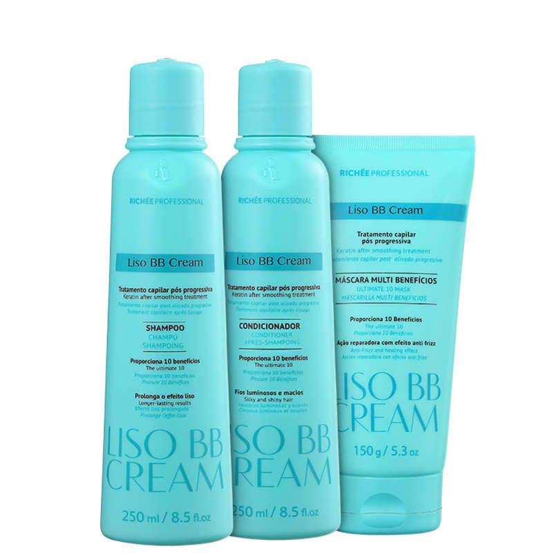 Kit Richée Professional BB Cream Hair Care (3 Produtos)