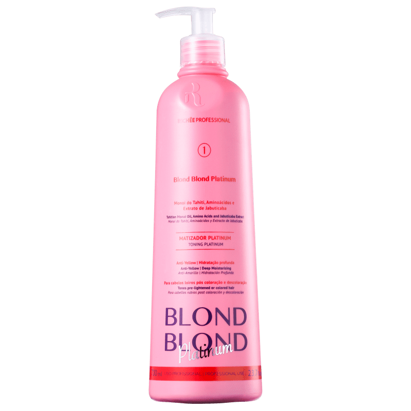 Richée Professional Blond Blond Platinum - Máscara Matizadora 700ml