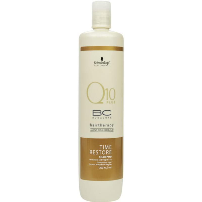 Schwarzkopf Professional BC Bonacure Q10 Time Restore - Shampoo 1250ml