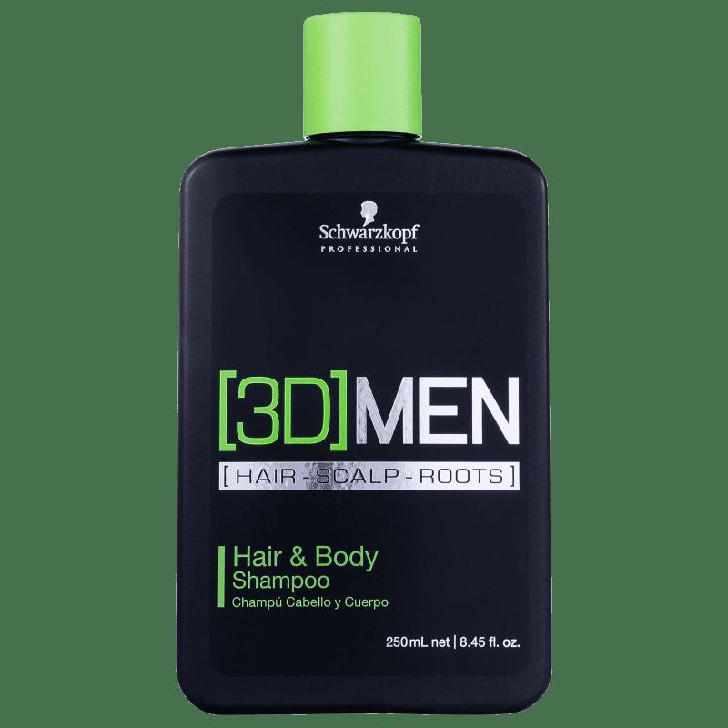 Schwarzkopf Professional 3DMension Hair & Body - Shampoo 250ml