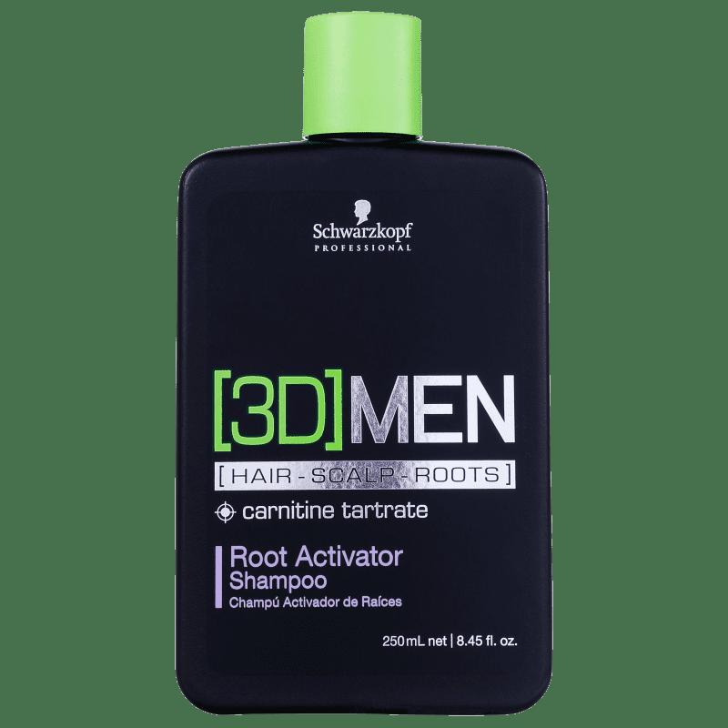 Schwarzkopf Professional 3DMension Root Activator - Shampoo Antiqueda 250ml