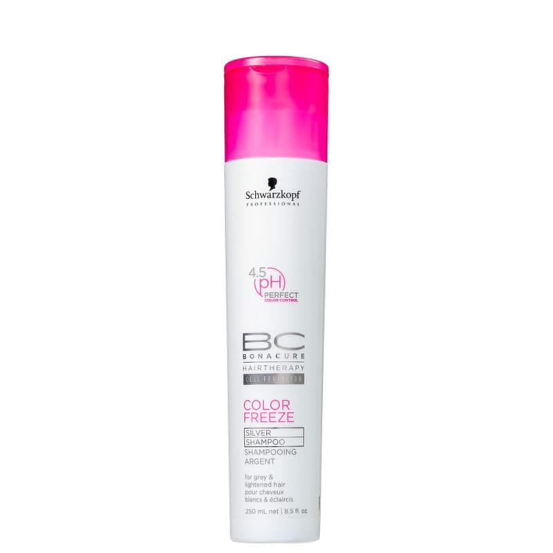 Schwarzkopf Professional BC Bonacure Color Freeze Silver - Shampoo Desamarelador 250ml