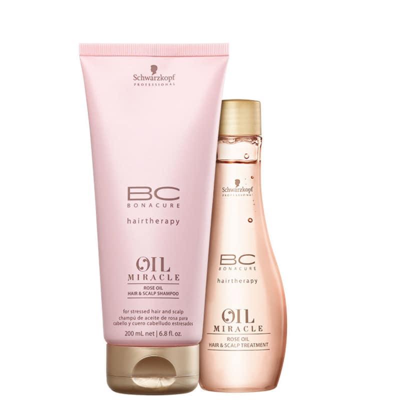 Kit Schwarzkopf Professional BC Bonacure Oil Miracle Rose Duo (2 Produtos)
