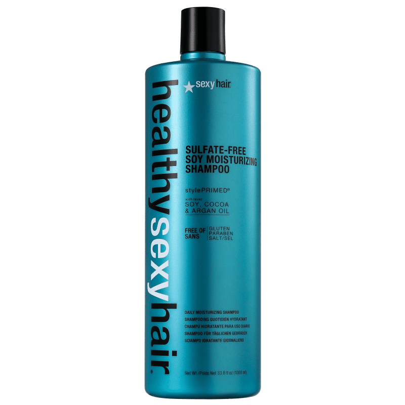 Sexy Hair Healthy Color Safe Soy Moisturizing - Shampoo sem Sulfato 1000ml