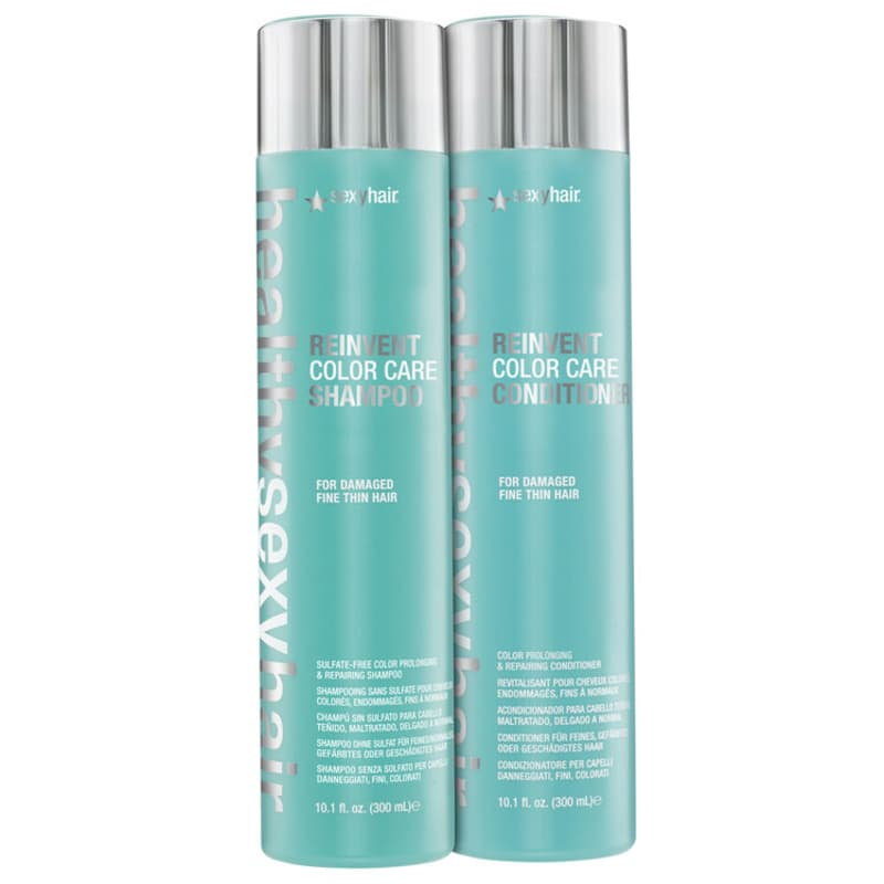 Kit Sexy Hair Healthy Reinvent Color Care Duo (2 Produtos)