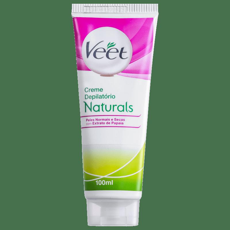 Veet Naturals Papaia - Creme Depilatório 100ml