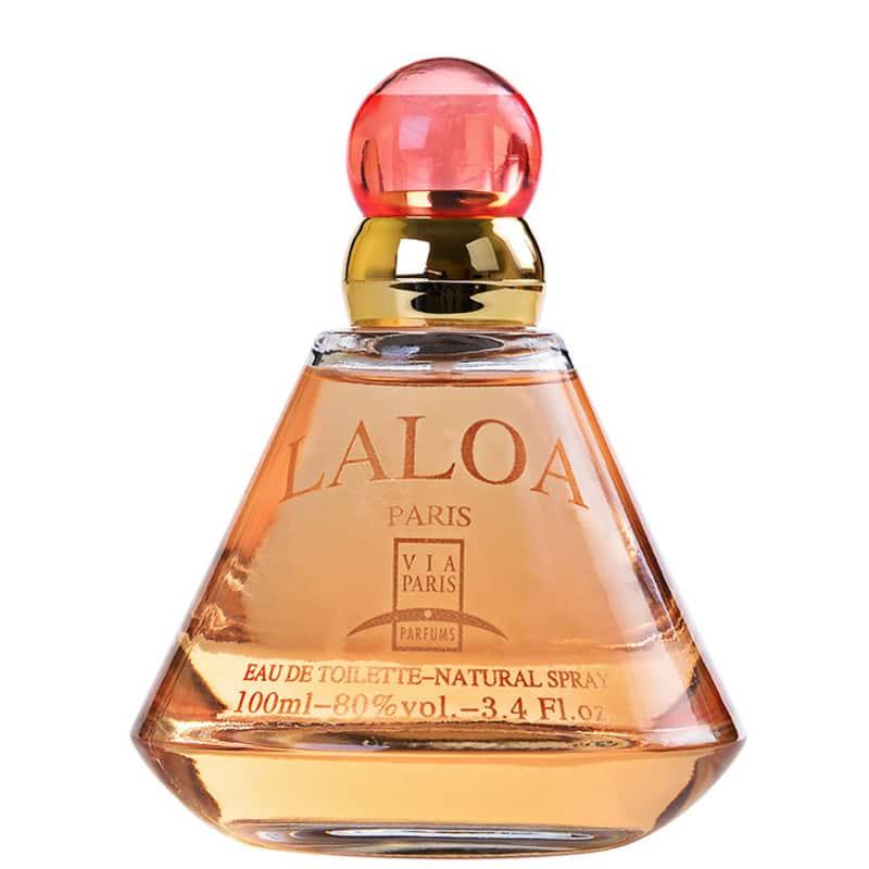 Laloa Via Paris Eau de Toilette - Perfume Feminino 100ml