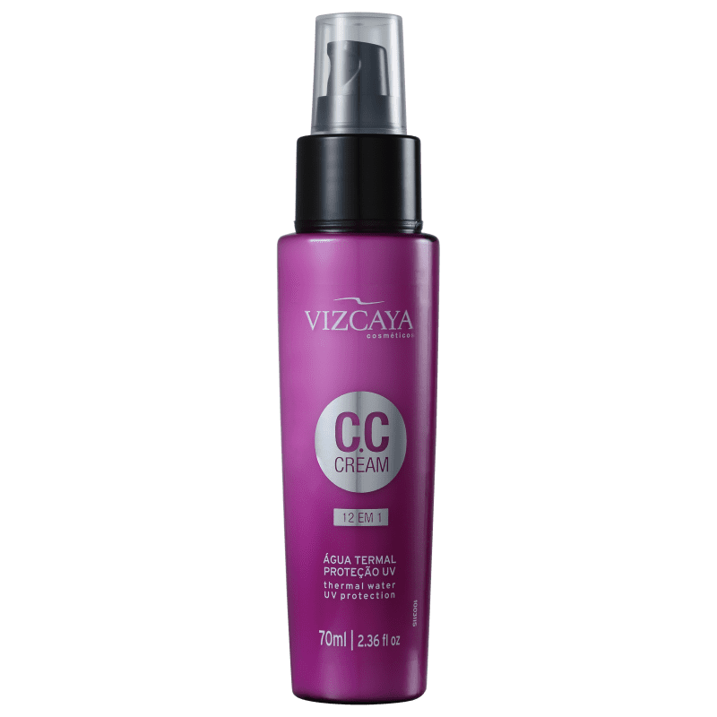 Vizcaya CC Cream 12 em 1 - Leave-in 70ml