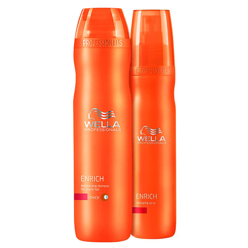 Kit Wella Professionals Enrich Fine Hair (2 Produtos)
