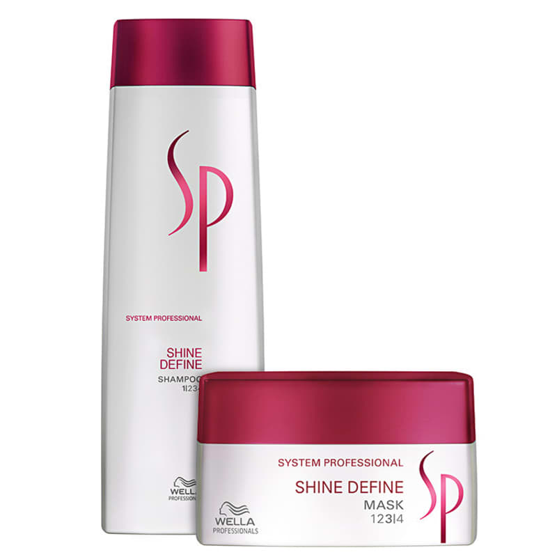 Kit SP System Professional Shine Define Duo (2 Produtos)