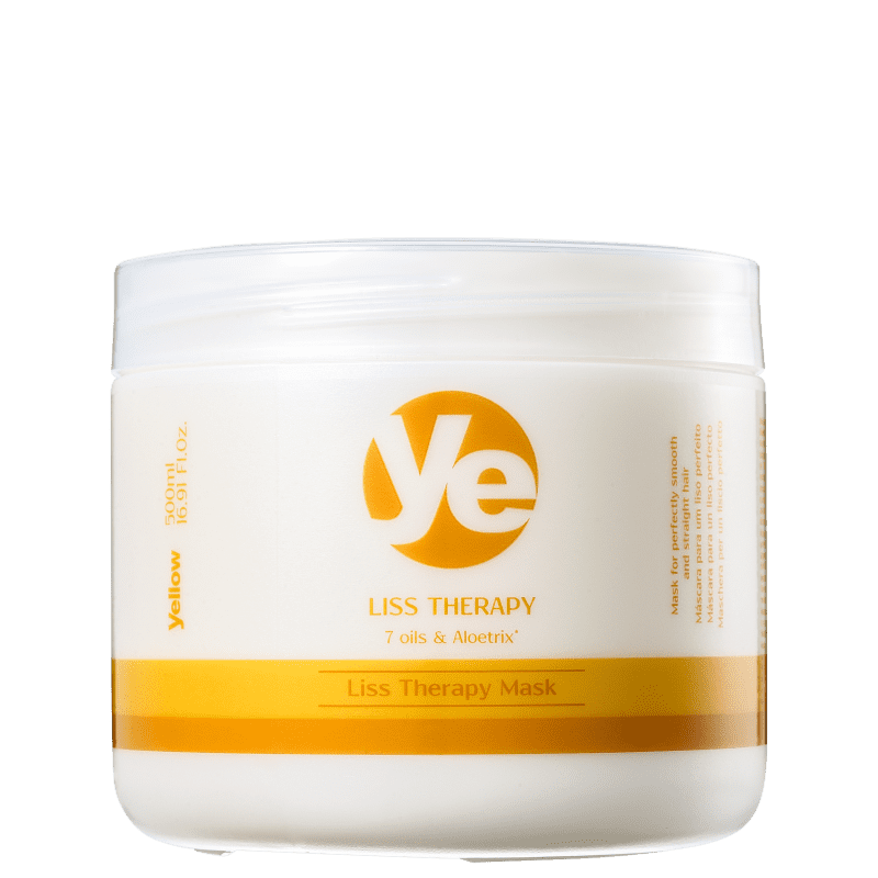 Yellow Liss Therapy - Máscara Capilar 500g