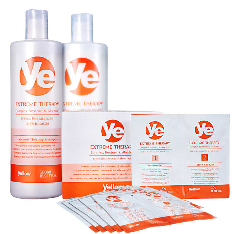 Kit Yellow Ye Extreme Therapy Treatment (3 Produtos)
