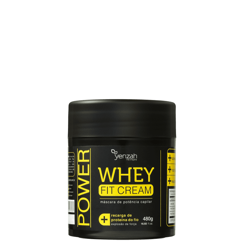 Yenzah Power Whey Fit Cream - Máscara Capilar 480g