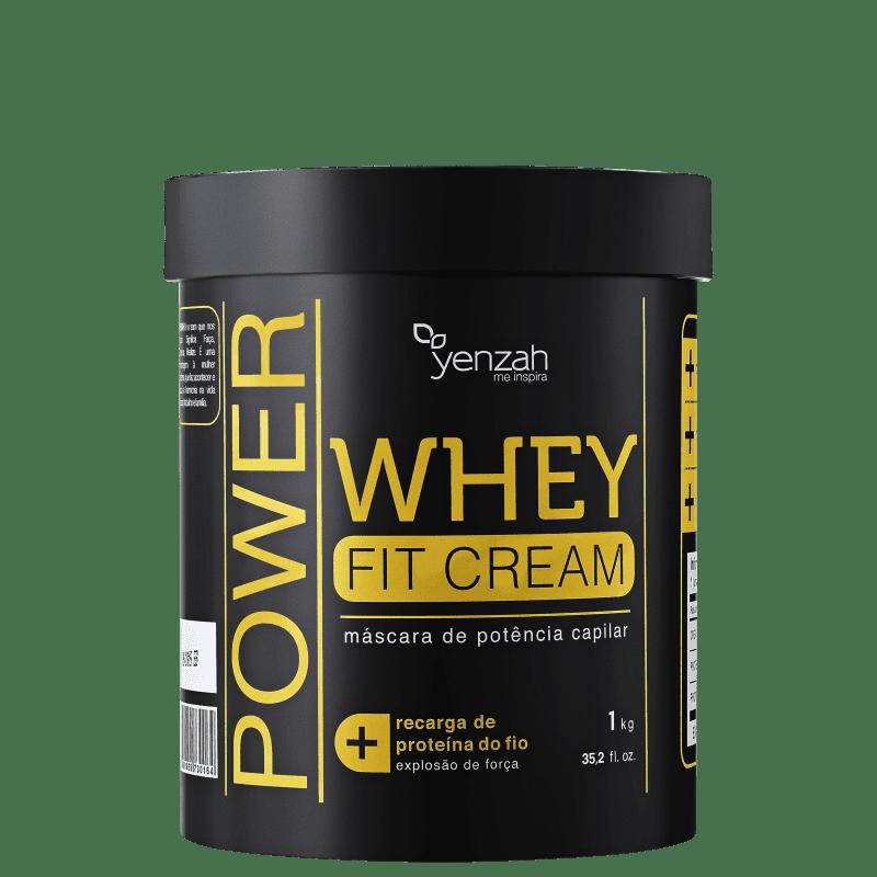 Yenzah Power Whey Fit Cream - Máscara de Reconstrução 1000g