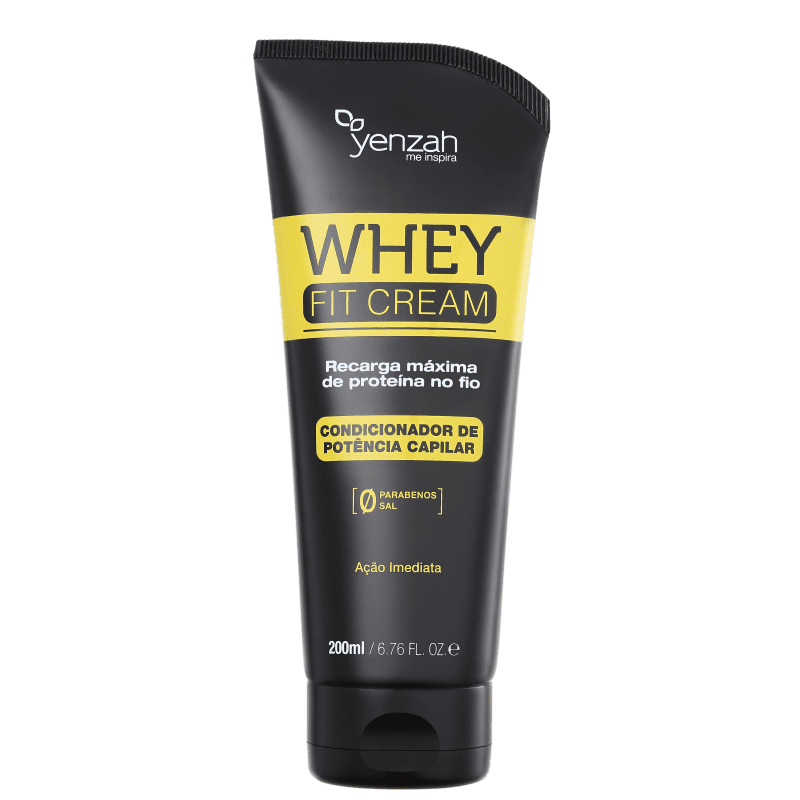 Yenzah Power Whey Fit Cream Potência Capilar - Condicionador 200g
