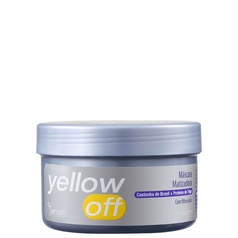 Yenzah Yellow Off - Máscara Matizadora 500g