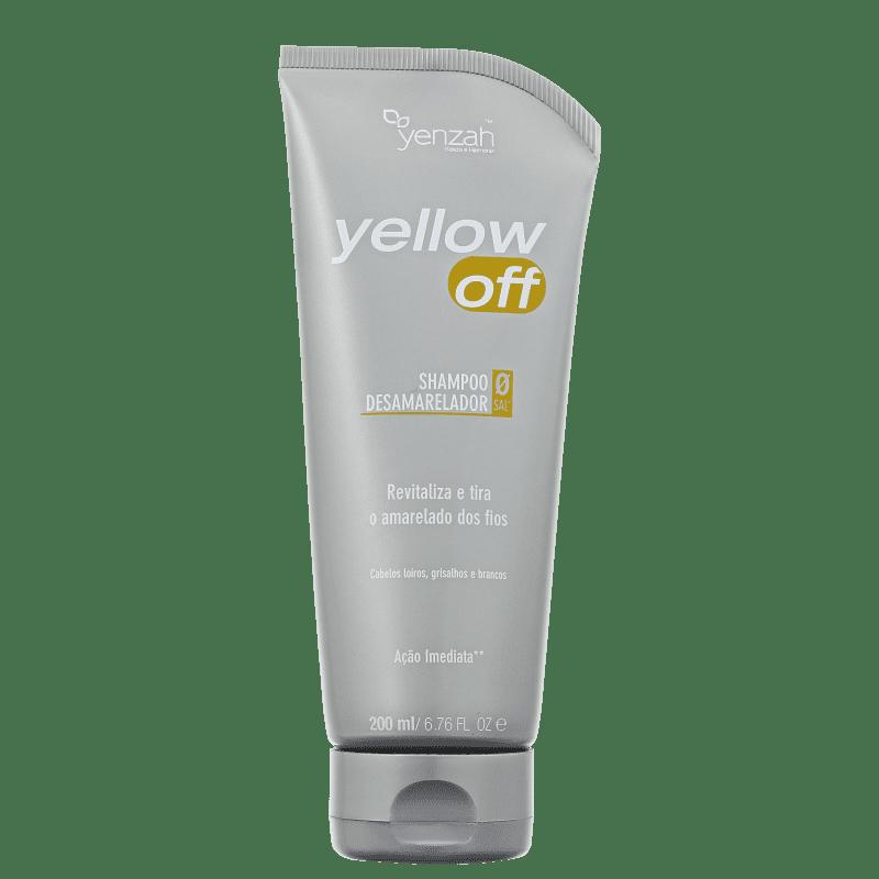 Yenzah Yellow Off - Shampoo Desamarelador 200ml