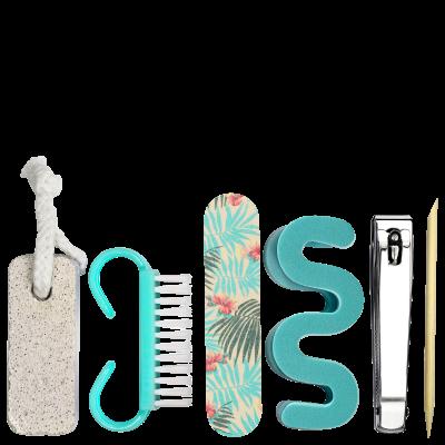 Océane Femme Cosmetrix Pedicure Kit (6 Produtos)