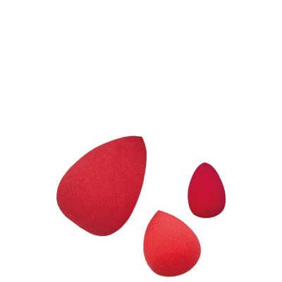 Drop Blend Sponge Trio - Kit com 3 esponjas para maquiagem