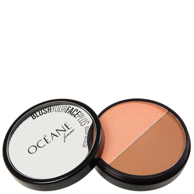 Blush Your Face Brown Orange - Blush em Pó 9,3g