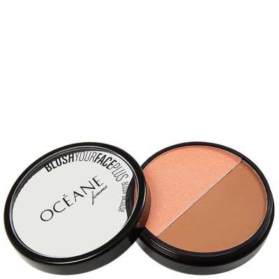 Blush Your Face Brown Orange - Blush em Pó 9,3g