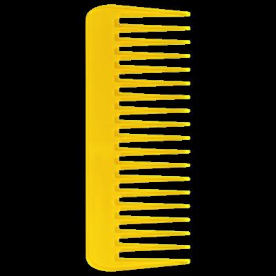 Color Comb Wide Amarelo - Pente