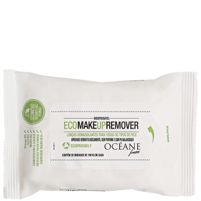Eco Make Up Remover - Lenços Demaquilantes 20 un
