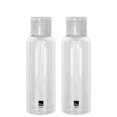 Frascos Para Viagem Transparentes - Frascos Plásticos 2 un