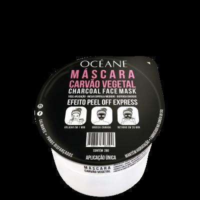 Charcoal Face Mask - Máscara Facial Carvão