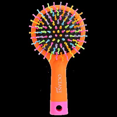 Rainbow Brush Laranja - Escova Almofadada Pequena