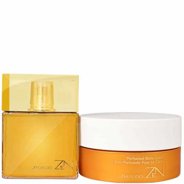 Conjunto Zen Shiseido Feminino - Eau de Parfum 100ml + Body Cream 200ml