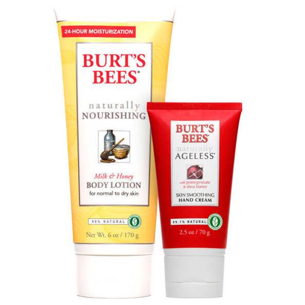 Burt's Bees Milk & Honey Ageless Skin Kit (2 Produtos)