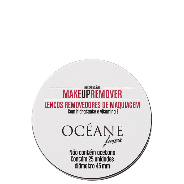 Make Up Remover - Lenço Demaquilante 25un
