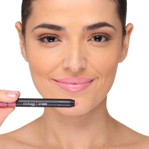 Lip Crayon Colour My Lips Matte Pink - Lápis Batom 3g