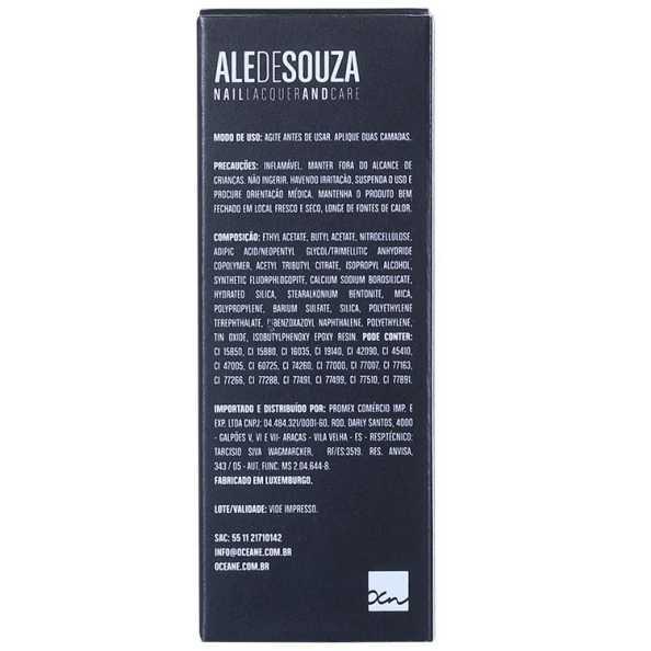 Ale de Souza Nail Lacquer and Care Silvia - Esmalte 10ml