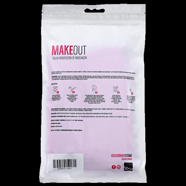 MakeOut - Toalha Removedora de Maquiagem
