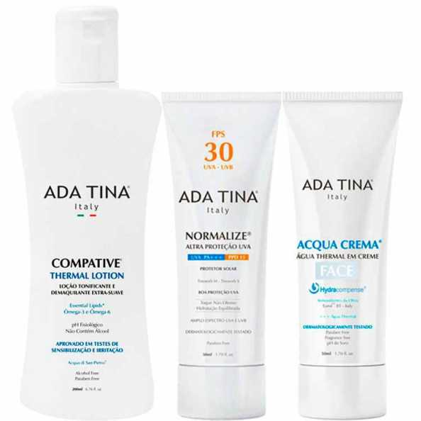 Ada Tina Acqua Normalize Thermal Kit (3 Produtos)