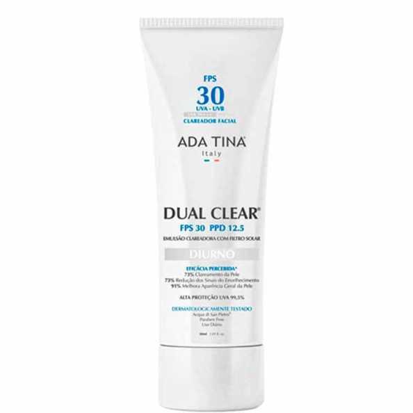 Ada Tina Dual Clear Diurno FPS 30 PPD 12,5 - Clareador de Manchas 30ml