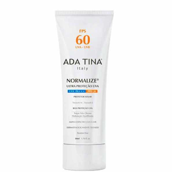Ada Tina Normalize FPS 60 - Protetor Solar Facial 50ml