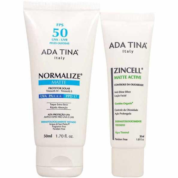 Ada Tina Normalize Zincell Sensive Kit (2 Produtos)
