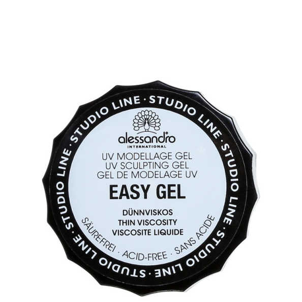 Alessandro International Easy Gel – Gel Modelador de Unhas
